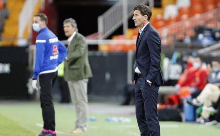 """Gracia: """"Las necesidades del equipo han sido evidentes en muchos de los partidos""""."""