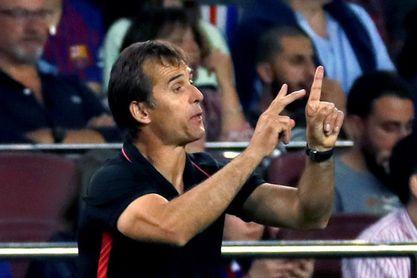 """Lopetegui: """"El Barcelona anda bien"""" y con """"energías renovadas"""""""
