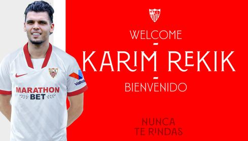 Rekik ficha por el Sevilla FC hasta 2025.