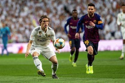 """Modric: """"Me gusta que Messi se haya quedado"""""""