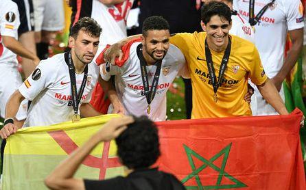 Munir, jugador del Sevilla, aún no puede debutar con la selección de Marruecos