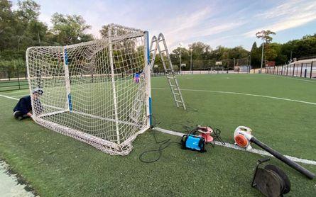 Comienza la renovación del Polideportivo San Juan en Alcalá de Guadaíra