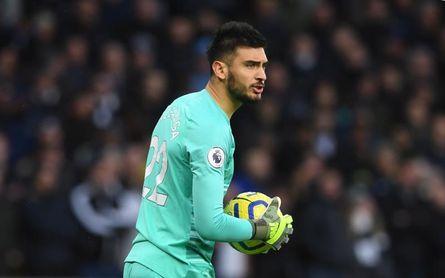 El Tottenham no incluye al argentino Gazzaniga en la Liga Europa