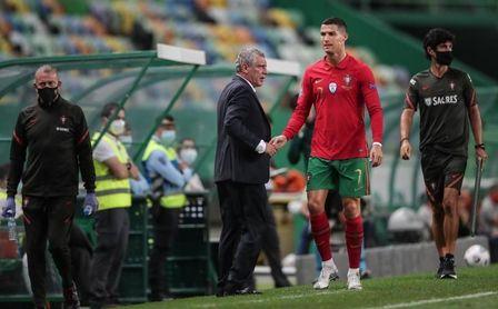 Cristiano Ronaldo, positivo por coronavirus.