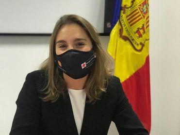 Margot Llobera, nueva embajadora de la Cruz Roja Andorrana