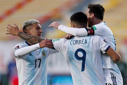 1-2. Argentina se lleva los tres puntos de La Paz y deja a Bolivia en cero