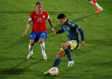 2-2. Falcao tarda dos años para marcar pero saca punto de oro para Colombia