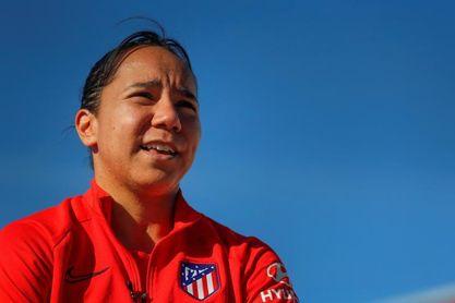 La delantera mexicana del Atlético Charlyn Corral es operada de la rodilla