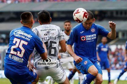 El paraguayo Pablo Aguilar, listo para reaparecer con el Cruz Azul