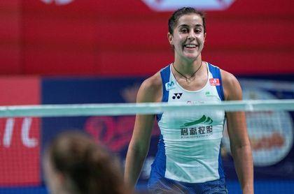 Carolina Marín remonta rumbo a la semifinal