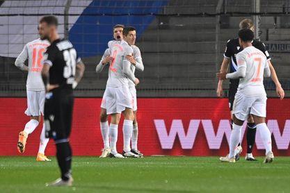 El Bayern logra un triunfo sin sobresaltos ante el Bielefeld (1-4)