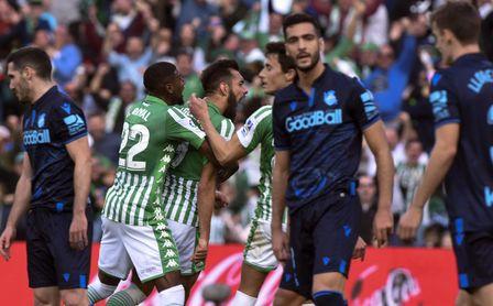 Real Betis-Real Sociedad: hora, televisión y dónde seguir online.