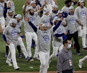 4-3. Los Dodgers ganan el título de la Nacional y jugarán la Serie Mundial contra los Rays