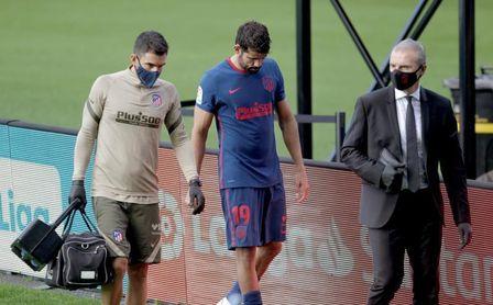 Diego Costa, lesión muscular y baja para Múnich