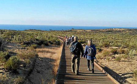 Los usuarios disfrutaron de una ruta por el Parque Natural de Doñana.