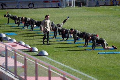 Simeone rearma su once con Joao Félix, Llorente, Carrasco, Herrera y Felipe