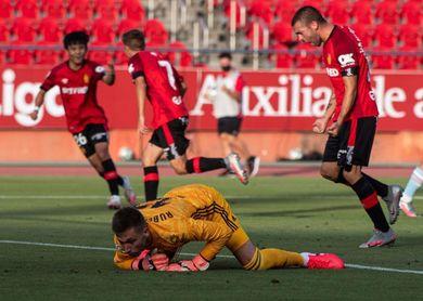 Murillo no entrena por precaución y Rubén Blanco hace trabajo de portería