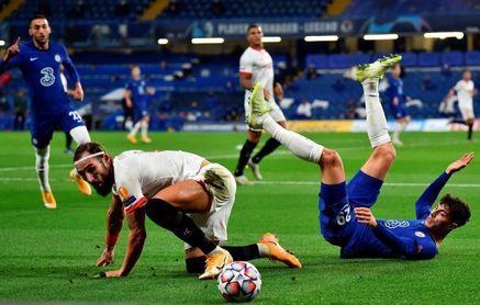 0-0. Chelsea y Sevilla empatan a miedo
