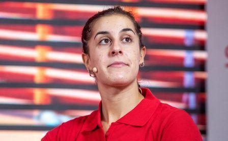 """Carolina Marín: """"No estoy en mi mejor momento, pero miro hacia delante""""."""