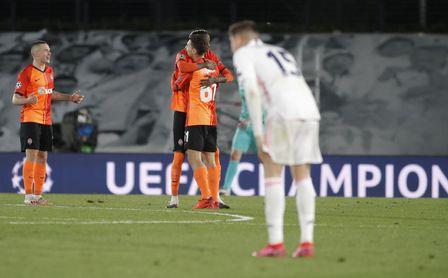 Real Madrid 2-3 Shakhtar: Los blancos acusan una mala primera parte