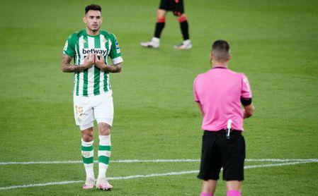 """Sanabria explica cómo vivió la polémica del Betis-Real Sociedad: """"La camiseta no se rompe sola"""""""