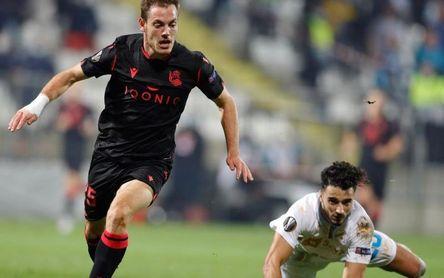 0-1. Jon Bautista en el descuento le da el triunfo a la Real en Rijeka