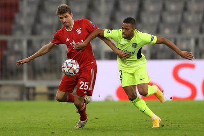 Cinco claves del Atlético que dobló la rodilla en Múnich