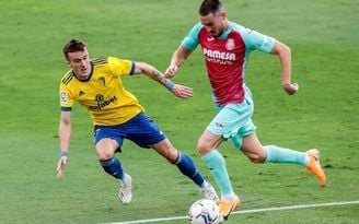 0-0. El Villarreal deja pasar la opción del liderato ante un rocoso Cádiz