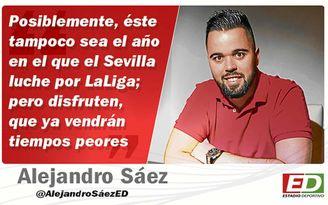 La opinión de Alejandro Sáez.