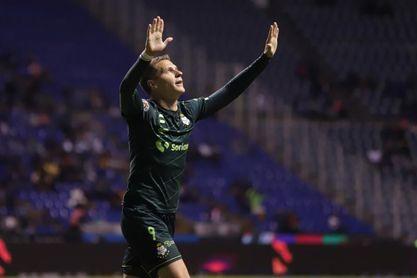 2-1. El argentino Furch define la victoria del Santos Laguna sobre el San Luis