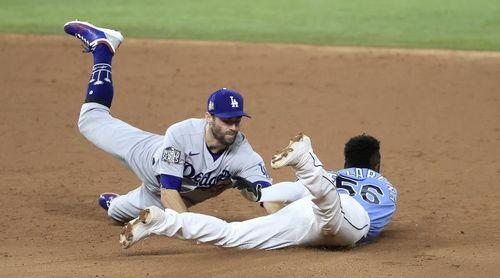 Díaz y Arozarena mantienen activos sus bates frente a los Dodgers