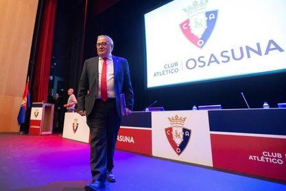 Sabalza, orgulloso de la extensión del sentimiento de Osasuna a toda Navarra