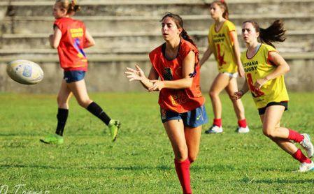 La estudiante de la UPO Blanca Ruiz, convocada por la selección nacional de rugby 7.