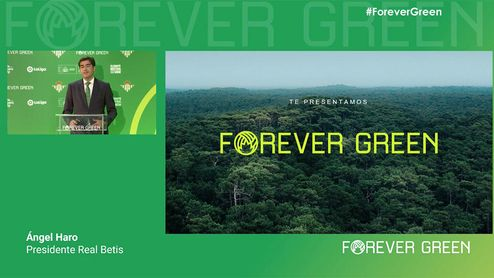 """Forever Green: El proyecto del Betis para ser """"el club más verde del mundo"""""""