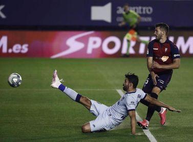 Una victoria de Osasuna en la última década ante el Atlético en El Sadar