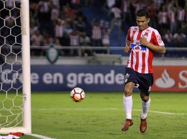 0-1. Teo Gutiérrez se viste de héroe en la victoria de Junior ante el Plaza Colonia
