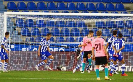 1-1: Griezmann enmienda el error de Neto y Pacheco salva un punto