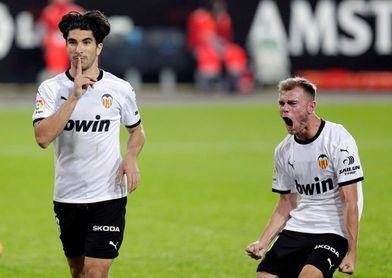 2-2. Valencia y Getafe empatan en un final frenético