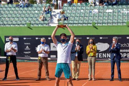 Pedro Martínez, campeón en Marbella tras una dura final ante Jaume Munar