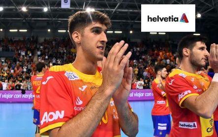 Antonio Serradilla, jugador del Logroño La Rioja, convocado por jugar con los Hispanos.