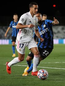 "Lucas Vázquez: ""El 3-2 es merecido"""