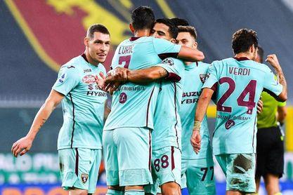 El Torino, con el venezolano Rincón de titular, doblega al Génova