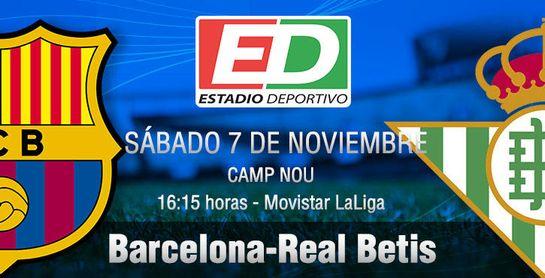 FC Barcelona - Real Betis: Con una maleta repleta de ilusión