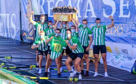 El Betis sigue dominando en la 54ª Regata Sevilla-Betis.