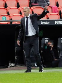 """Zidane: """"No hay justificación, nos vinimos abajo tras empate"""""""