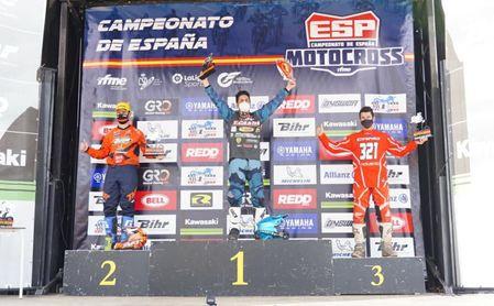Raúl Álvarez se proclama tetracampeón de España de Motocross en MX3.