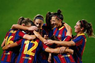 3-0. El Barcelona vive un escalón por encima del Atlético