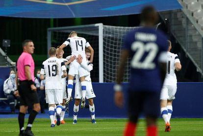 0-2. Una Francia desangelada cae ante una ordenada Finlandia