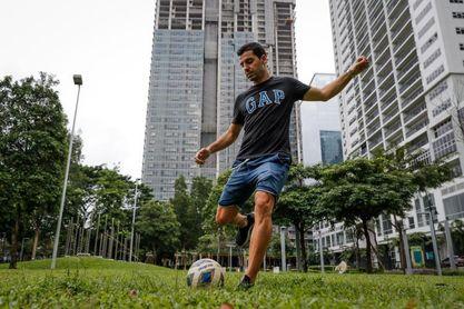 Bienve Marañón, la bota de oro española de la Liga filipina