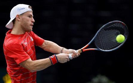 Schwartzman, contra Djokovic, Medvedev y Zverev en las Finales ATP